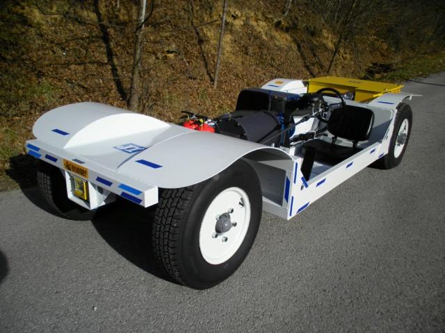 AC Stinger - přípustné elektrické těžební vozidlo