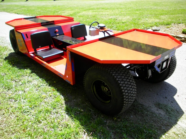 AC Super Trac Electric Vehicle Mining