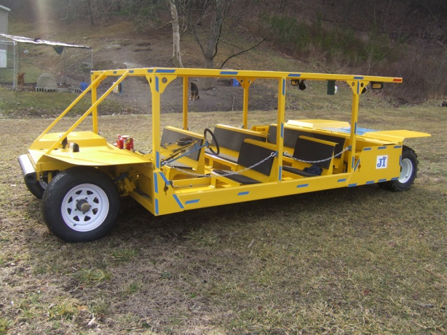 Super Contactor Mantrip 72V Elektrisk Mining Vehicle