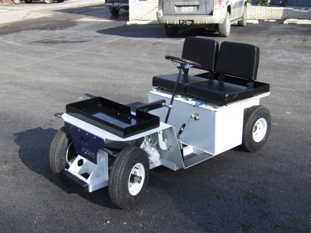 36V Scooter Burden Carrier Vehicle