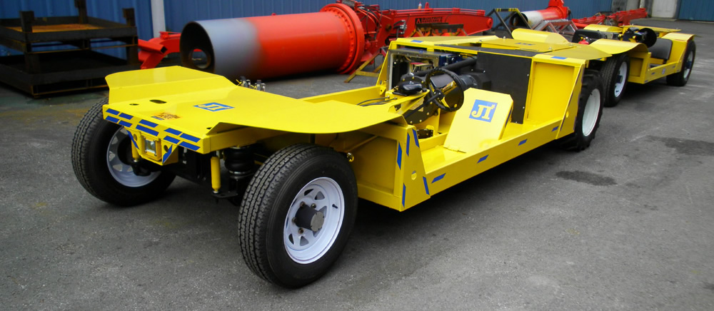 AC Yellow Jacket Electric Mining Vehicle