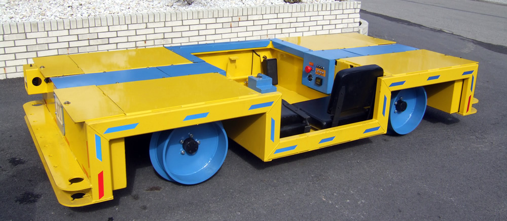 DC Rail Runner Mining Vehicle