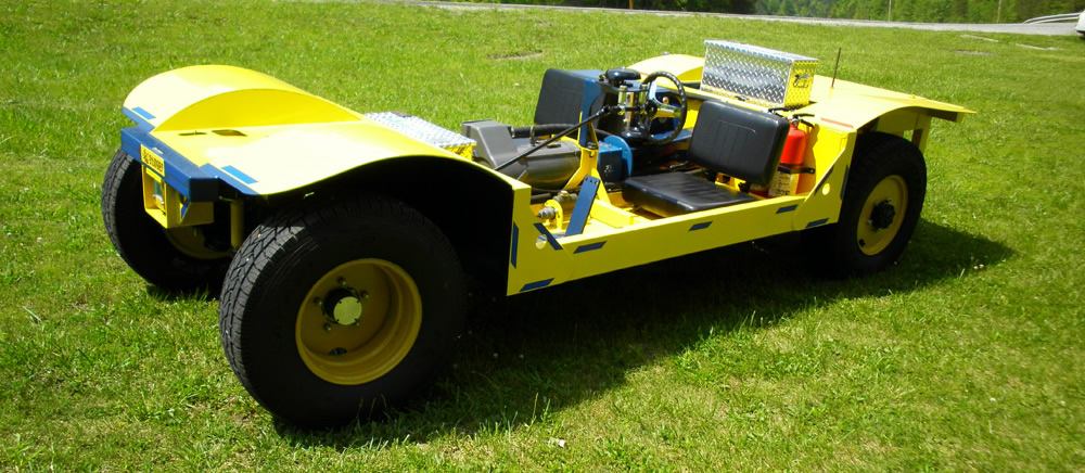 Leyfilegt AC Stinger Electric Mining Vehicle