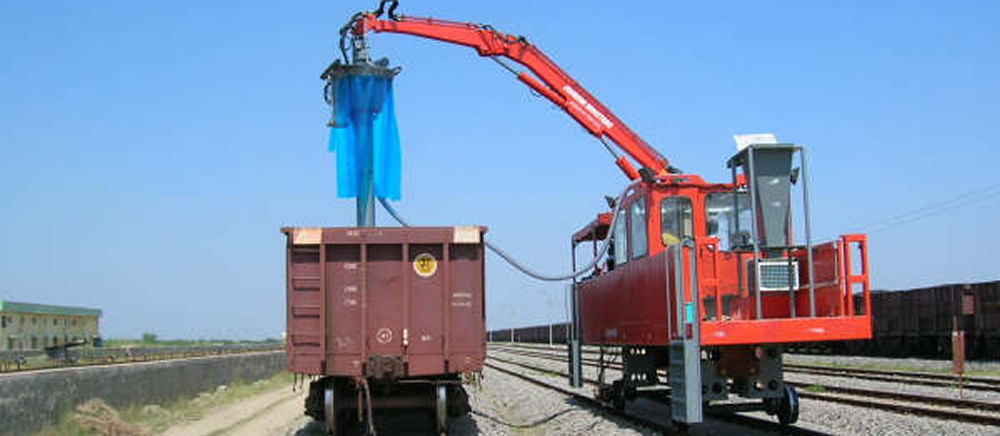 Rail Mounted Uni-Sampler uhlie Auger Sampling System