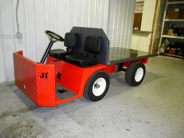 Vehicle per a transport de càrrega de camions d'utilitat AC
