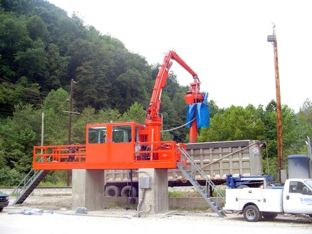 Sistema de mostreig Auger Carbó estacionari Uni-Sampler