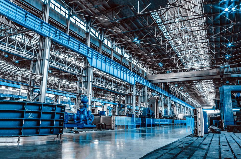 工厂车辆和设备