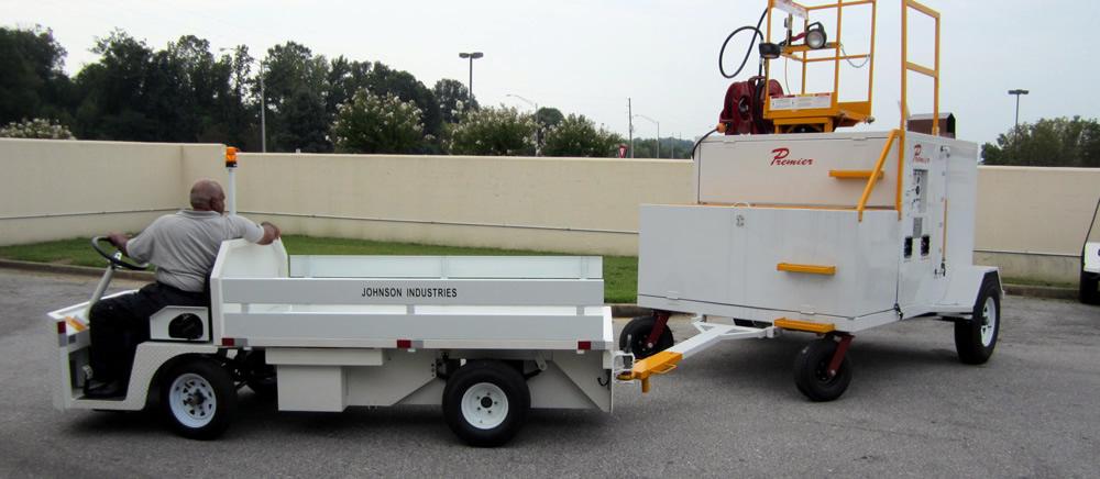 Βοηθητικά οχήματα υποστήριξης εδάφους από φορτηγά