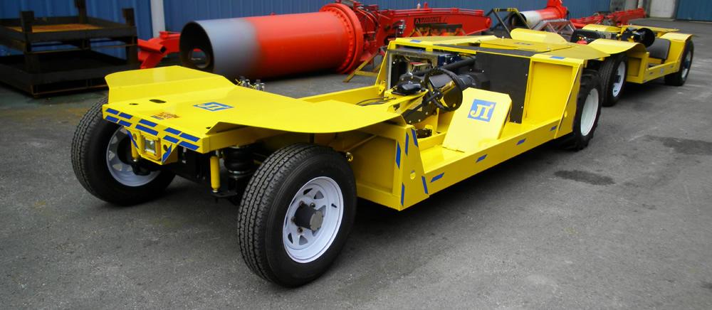 AC Žltá bunda Elektrické banské vozidlo